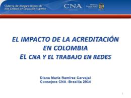 impacto de la acreditación en colombia