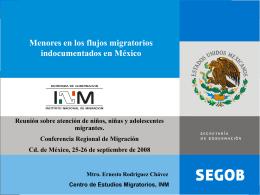 Diapositiva 1 - Conferencia Regional sobre Migración