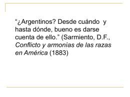 HIPOTESIS: La Unidad de América Latina. Identidad / Identidades: