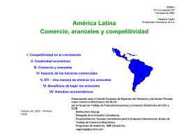 FTAA.ecom/inf/147 5 de junio de 2002 América Latina