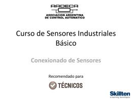 Curso de Sensores Industriales Básico