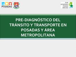 diagnóstico preliminar del transporte en posadas