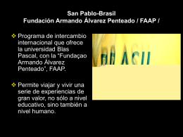 San Pablo-Brasil / Fundación Armando Álvarez Penteado / FAAP