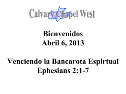 HE IS RISEN - Calvary Chapel West