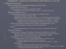 creación y expansión de los reinos medievales (s. viii-xv)
