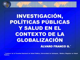 globalización y sector salud