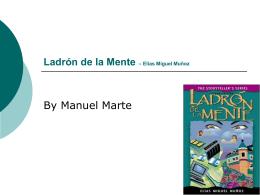 Ladrón de la Mente – Elías Miguel Muñoz - manny-m