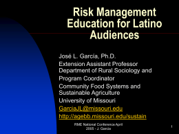 Powerpoint - National Ag Risk Education Library