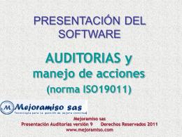 presentacion auditorias 9 testing