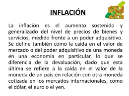 inflacion powerpoint-2009