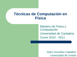 Técnicas de Computac.. - Universidad de Oviedo