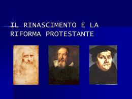 """Riforma e Controriforma - Liceo Scientifico """"Mariano IV"""