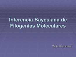 Bayesianos - Instituto de Biología
