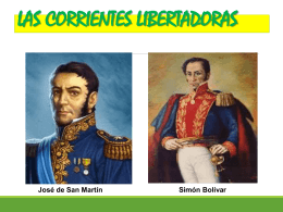 CORRIENTES LIBERTADORAS PRIMERA