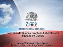 Convenio de Buenas Practicas Laborales con Equidad de Genero