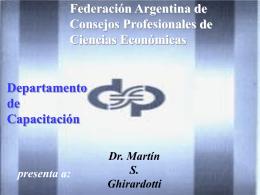 Bs Cambio - Consejo Profesional de Ciencias Economicas de