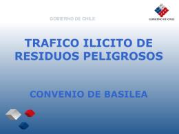 CHILE Tráfico Ilícito