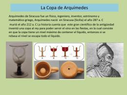 copa de Arquímides.