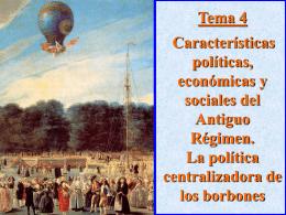 Tema 4. El siglo XVIII