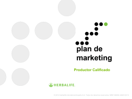 Productor Calificado - distribuidor de productos Herbalife