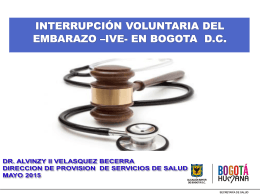 Red Sur IVE - Secretaría Distrital de Salud