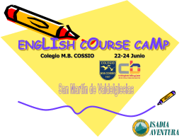 ENGLISH COURSE CAMP
