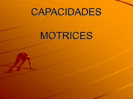 CAPACIDADES - corpo-motricidad