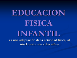 EDUCACION FISICA INFANTIL - Instituto pestalozzi 4089