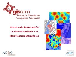 GISCOM: Sistema de Información Comercial aplicado a la