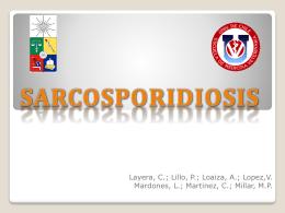 S. aucheniae - Sarcosporidiosis