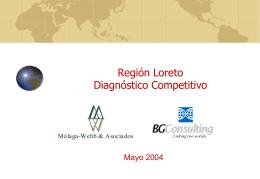LORETO - Comercio internacional