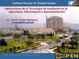 IVESTIG. - DESARROLLO - Instituto Peruano de Energía Nuclear