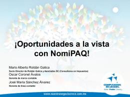Oportunidades con NomiPAQ 2006