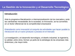 Gestión de la innovación Tecnológica - DCFR001-V2