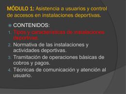 MÓDULO 1: Asistencia a usuarios y control de accesos en