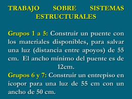 CONFIGURACIÓN ESTRUCTURAL