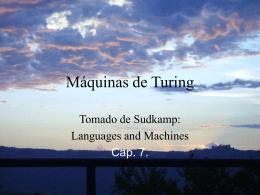MAQUINAS DE TURING
