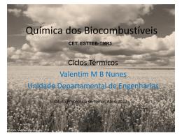 Ciclos Térmicos - Instituto Politécnico de Tomar