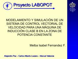 Descripción Matemática De La Máquina De Inducción, Referida Al