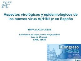 Aspectos virológicos y epidemiológicos