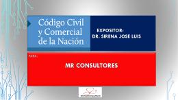 Reforma del Codigo Civil - SIRENA