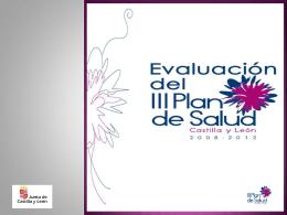 Presentación III Plan de Salud