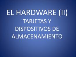 Hardware de ordenadores - ies arturo soria
