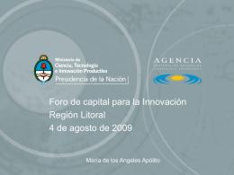 Diapositiva 1 - Foro de Capital para la Innovación