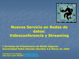 Servidores Streaming
