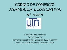 La empresa individual de responsabilidad limitada - UTN-CONTA-IV