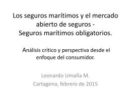 seguros MAT - v jornadas de seguro maritimo y portuario cartagena