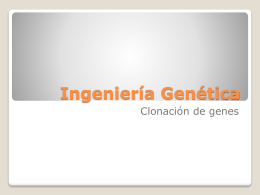 Ingeniería Genética - IES Siberia Extremeña