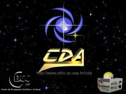 O Nascimento do Telescópio - CDCC