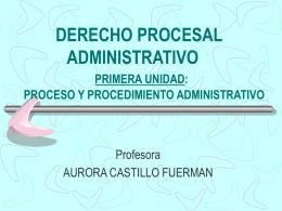 Principios Fundamentales del Procedimiento Administrativo General